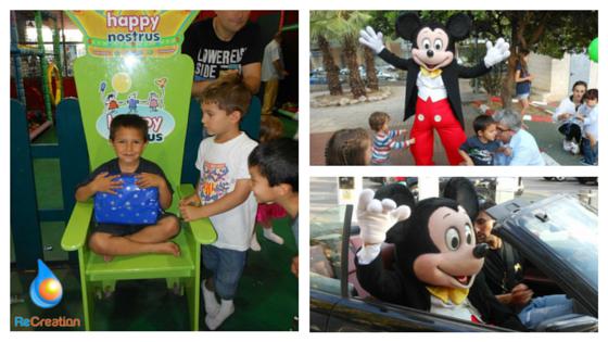 Animación infantil personajes de Disney