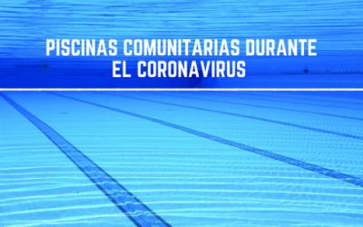 Piscinas durante el coronavirus. Normativas